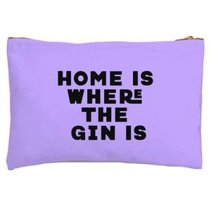 Home Is Where The Gin Is Zipped Pouch