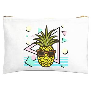 Summer Pineapple Zipped Pouch