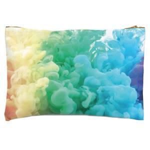 Rainbow Smoke Zipped Pouch