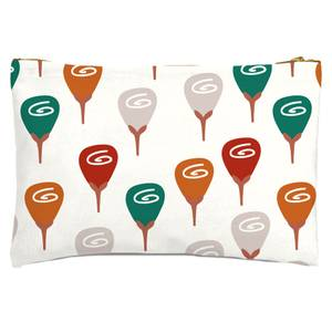 Retro Roses Zipped Pouch