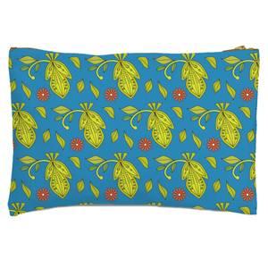 Retro Tropics Zipped Pouch