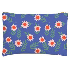 Large Daisy Zipped Pouch