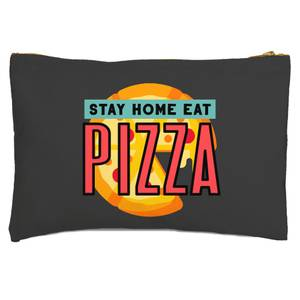 Stay Home Eat Pizza Zipped Pouch