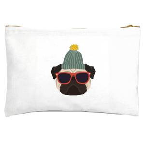 Cool Pug Zipped Pouch