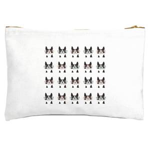 Pugs In Glasses Zipped Pouch