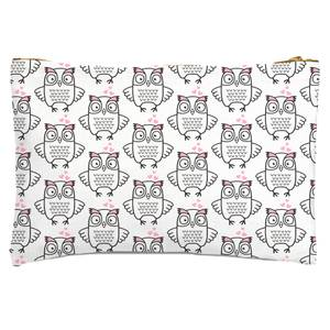 Loving Owl Zipped Pouch