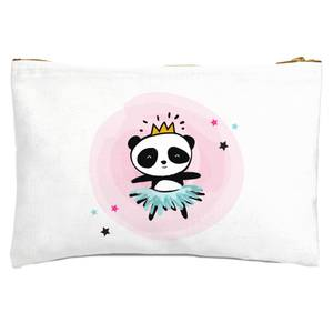 Princess Panda Zipped Pouch