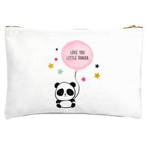 My Little Panda Zipped Pouch