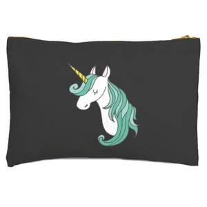 Unicorn Head Zipped Pouch