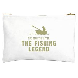 The Man, The Myth, The Fishing Legend Zipped Pouch