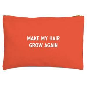 Make My Hair Grow Again Zipped Pouch