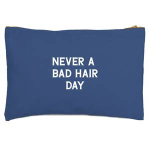 Never A Bad Hair Day Zipped Pouch