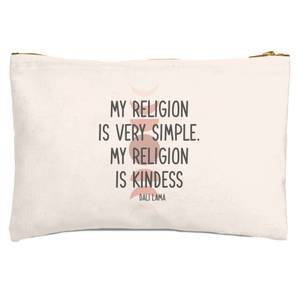 My Religion Is Very Simple Zipped Pouch