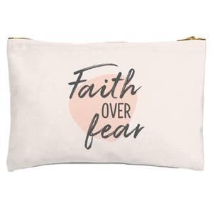 Faith Over Fear Zipped Pouch