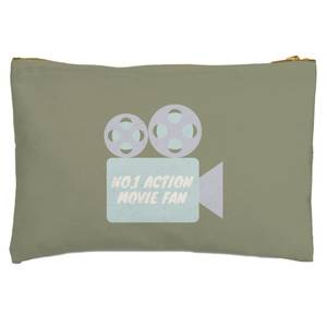 No.1 Action Movie Fan Zipped Pouch