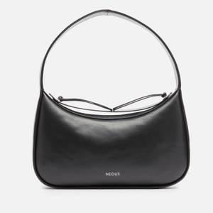 Neous Women's Delphinus Leather Shoulder Bag - Black