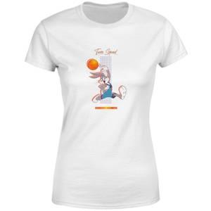 Space Jam Bugs Bunny Basketball Women's T-Shirt - White