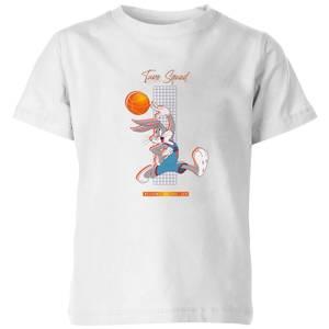 Space Jam Bugs Bunny Basketball Kids' T-Shirt - White
