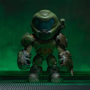 Numskull Designs Doom Slayer 6 Inch Figure