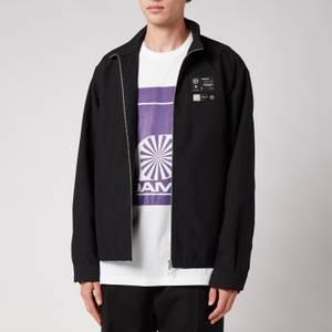 OAMC Men's System Full Zip Shirt - Black