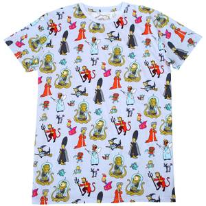 Cakeworthy x The Simpsons - Treehouse Of Horror- AOP T-Shirt