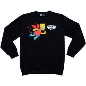 Cakeworthy x The Simpsons - Bart Simpson Devil Crewneck Sweatshirt