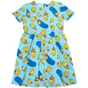Cakeworthy x The Simpsons - Simpsons Family Toss Print Dress