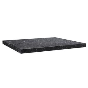 Vermont Worktop 400 x 450mm - Gloss Black Granite