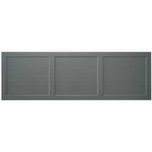 Savoy Bath Side Panel 1700mm - Charcoal Grey