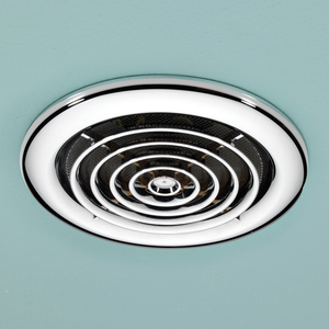 Rapide Chrome Inline Ceiling Extractor Fan