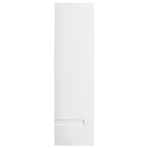 Vermont Right Hand Wall Mounted Tall Unit - Gloss White