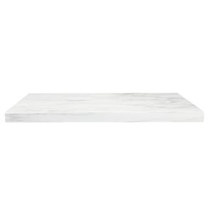 Waterside/Transition Worktop 600mm - Carrara White