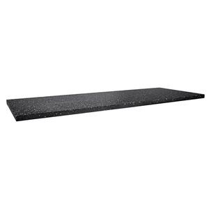 Waterside/Transition 1200mm black granite worktop