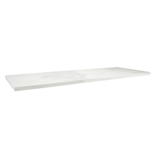Vermont Worktop 1200mm - Carrara White