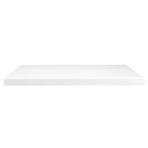 Waterside Worktop 600mm - Gloss White
