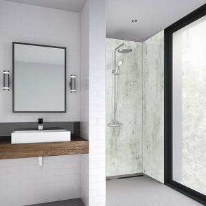 Wetwall 1200mm square edge laminate - cream stone
