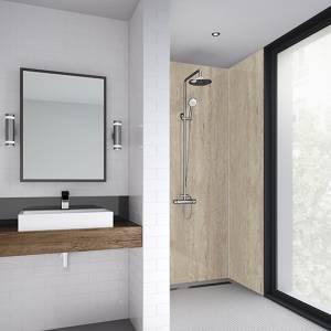 Wetwall 1200mm square edge laminate - turino marble