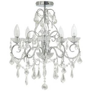 Savoy five light chandelier