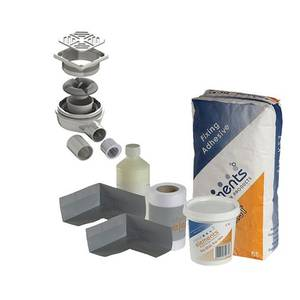 Square Wetroom Install & Drainage Kit