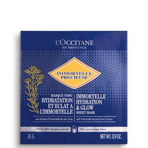 L'Occitane Immortelle Hydration and Glow Sheet Mask