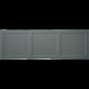 Savoy 1800mm bath  side panel charcoal grey