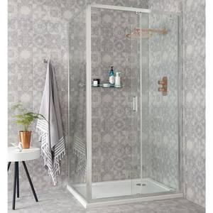 Benchmark 1100mm Sliding Shower Door