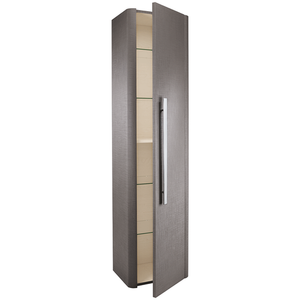 Linen Tall Wall Mounted Cabinet - Grey