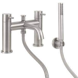 Forge Deck Mounted Shower Mixer Tap