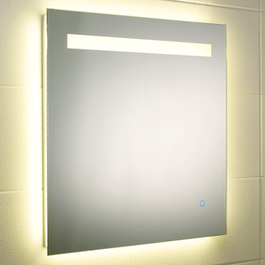 Atmos Ambient Square LED Mirror