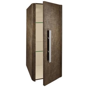 Linen Mini Tall Wall Mounted Cabinet - Rust