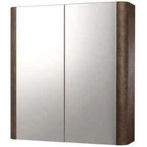 Linen 600mm Mirrored Cabinet - Rust