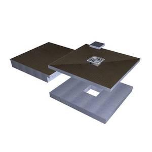 Square Raised Wetroom Tray Kit 1850 x 900 x 140mm