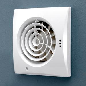 Whisper White Wall Extractor Fan