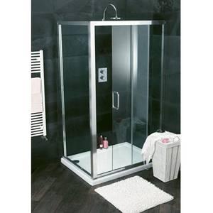 Atlas 1100mm Shower Enclosure Sliding Door